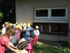 Návštěva školky na včelíně-duben 2016